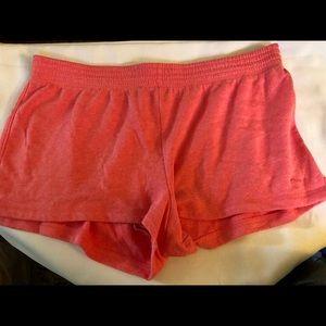 Peach Victoria's Sceret PINK Shorts